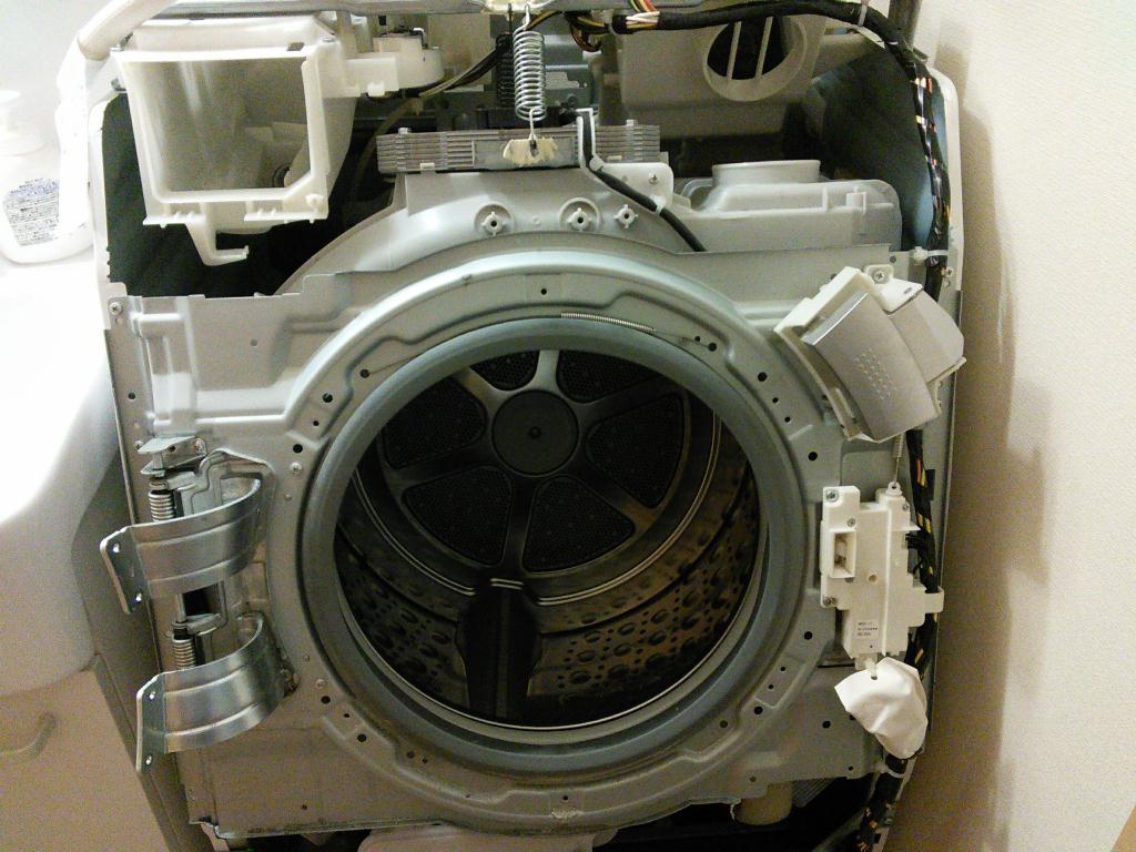 乾燥機能復活へ…パナソニック ドラム式洗濯乾燥機を分解して ...